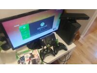 Xbox 360 Slim with Kinect for sale