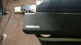 Samsung soundbar and subwoofer