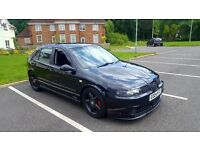 2004 SEAT LEON CUPRA 1.8 20V TURBO REMAPPED, CLUTCH, CAMBELT & WATER PUMP REPLACED