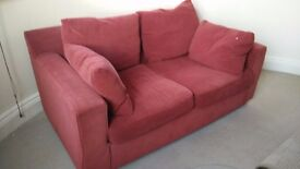 Free Red Sofa, just needs collection