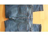 Ladies Womens Dark Blue Skinny Jeans size 12
