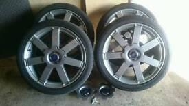 Ford mondeo titanium alloys