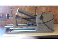 Small woodworking lathe used for fruit bowls etc. Not used in the last 3years.