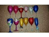 Glitter glasses tester so not perfect. £3 each or 2 for £5