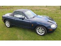 Mazda mx5 1.8 blue 92.050miles year 2000