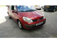 DIESEL RENAULT SCENIC 1.5 DCI VERY LOW GENUINE MILES, NO FAULTS,PERFECT FAMILY CAR, EXCELLENT !!