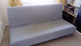 IKEA Beddinge Sofa Bed with Grey Slipcover