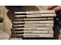 Playstation 2 job lot for sale.