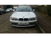 Bmw 318ci SE Coupe 2003, Mot Nov, Full leather, Great Runner, May swap/PX