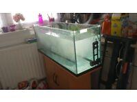 180 liters fish tank