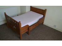 Bed extentable