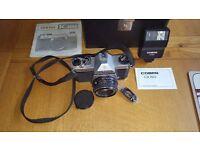 Pentax Asahi K1000 35mm SLR camera & 50mm F2 Lens