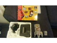 nintendo 64 console boxed & Nintendo 64 console