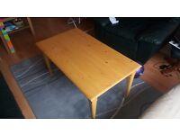 Handmade coffe table