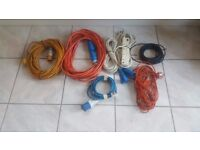 Electrical hook up leads