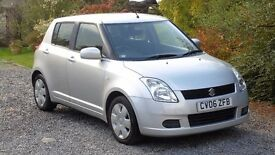 2006 Suzuki Swift 1.3, 64,000 miles, 11 months MOT, immaculate