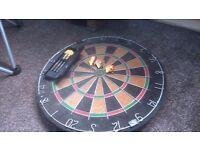 Dartboard and dart