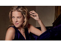2x Diana Krall tickets Royal Albert Hall 27 September 2017 Rausing Circle Front Row BELOW FACE VALUE