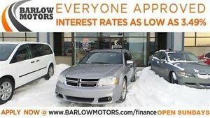 2013 Dodge Avenger SXT (APPLY NOW DRIVE NOW!)