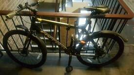 """CARRERA MENS 22"""" FRAME SUBWAY 1 BIKE MINT CONDITION. AS NEW"""