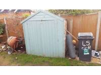 6ft x 4ft apex shed