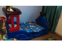 Little tikes train bed with mattress £150 or ono
