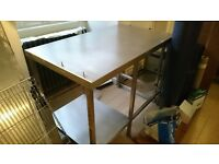 Stainless Steel Kitchen Table Good Condition