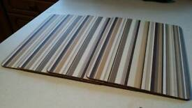 Retro place mats