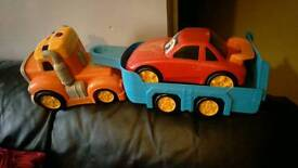Used toy truck no longer played with