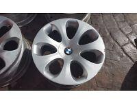"SAVER SPARE FRONT BMW ALLOY WHEEL 19"" 6 SERIES E63 E64 6760629 ELLIPSOID STYLE 121"