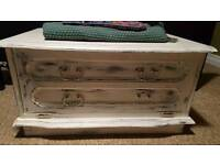 Shabby Chic TV Stand/end of bed chest