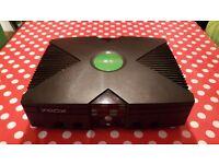 Xbox Original Console Including One Game