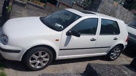 golf mk4 either breaking if enough interest or whole car 150