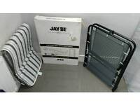 JAY-BE Folding Bed with Breathable Airflow Mattress