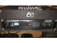 Behringer ep2500 Power Amplifier