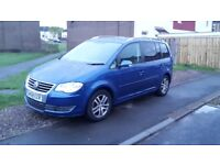 vw touran 1.9 tdi 2008 6 speed 7 seater