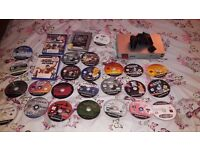 Ps2 plus 2 controls and 26 games