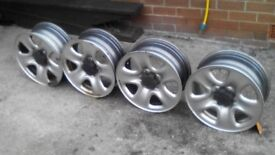 Suzuki grand vitara steel wheels