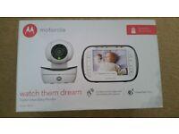 Motorola watch baby dream video montior