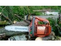 Husqvarna 335xpt chainsaw