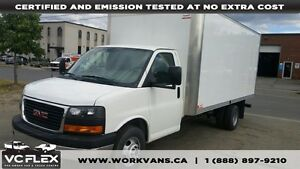 2015 GMC Savana 3500 G3500 16Ft V8 Gas - Only 8000km