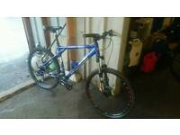 "Gt aggressor xc.3 cross country. Mountain bike. Mens. 26"" rock shox"