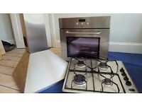 Whirlpool Generation oven, gas hob and extractor
