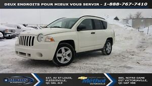 2008 Jeep Compass Sport/North ++ 4X4 ET BEAU MILAGE