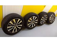 **ORIGINAL HONDA CIVIC 2014**16 INCH ALLOY WHEELS & TYRES**