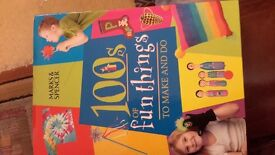 childrens craft book and plaster of paris models, ideal christmas present