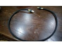 Gold hdmi cable