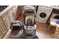 Graco pushchair/buggy with car seat