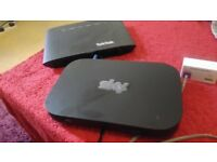 brand new sky router and talk talk router