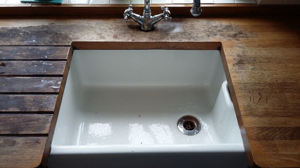 Good quality second hand kitchen units wooden worktop and belfast good quality second hand kitchen units wooden worktop and belfast sink for sale workwithnaturefo